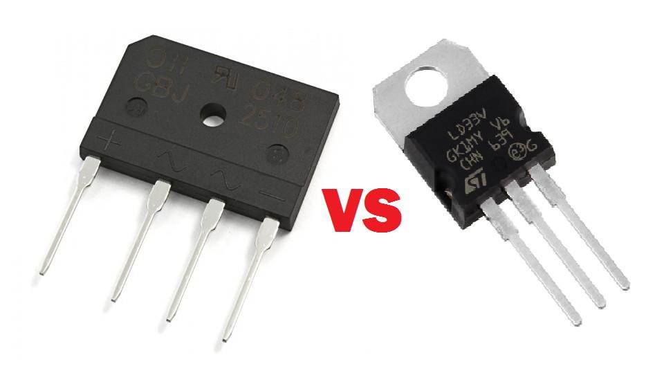 Difference between rectifier and regulator