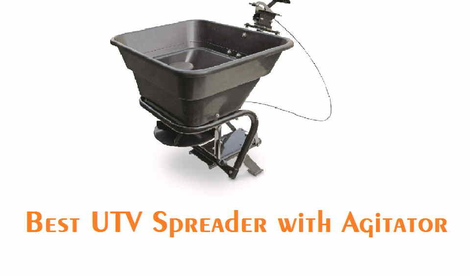 UTV spreader with agitator