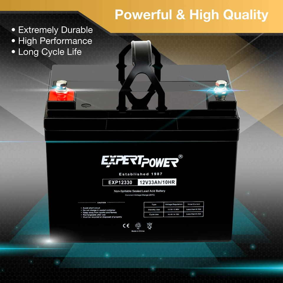 can you use any 12 volt battery in a power wheels