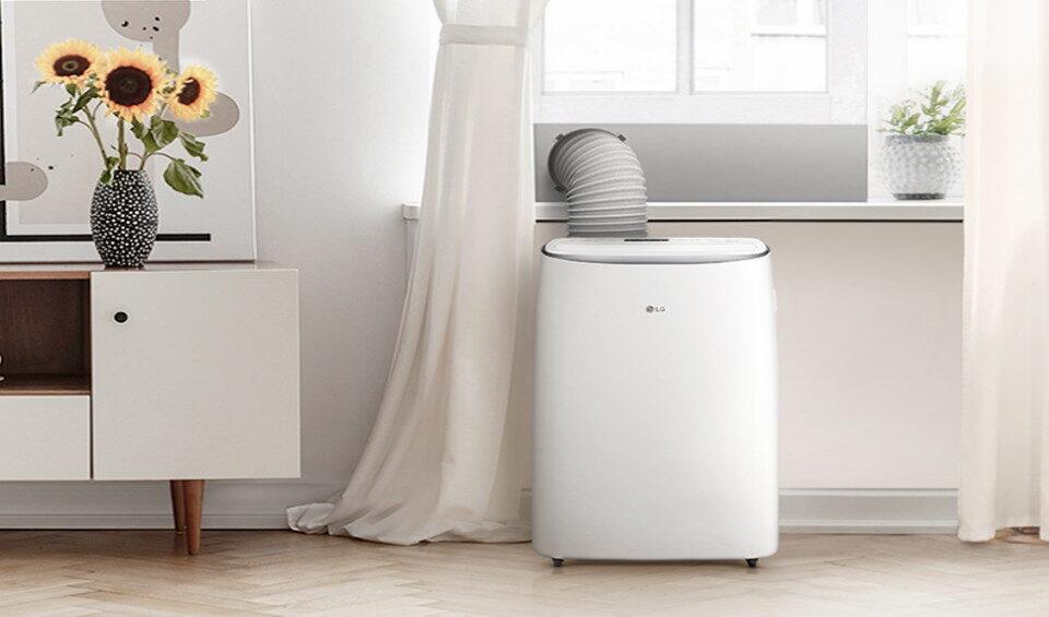 LG portable air conditioner compressor keeps shutting off