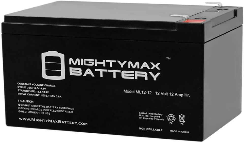 power wheels 12-volt rechargeable battery alternative