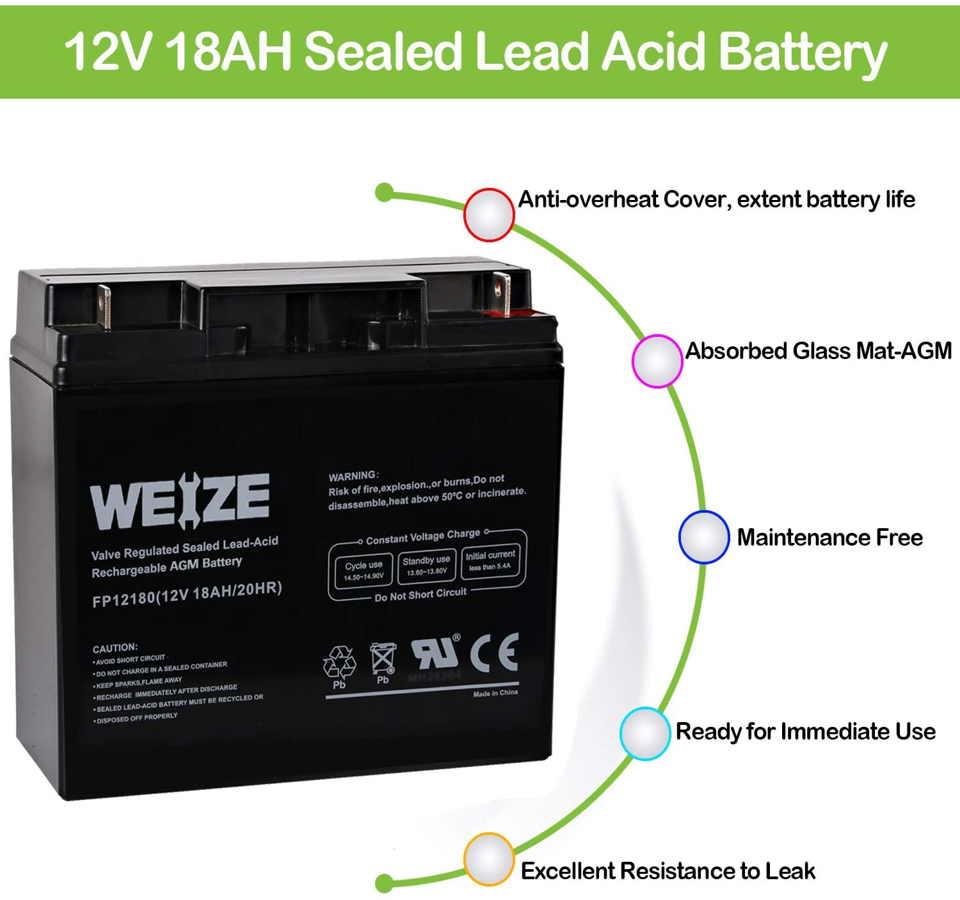 power wheels 12v battery alternative