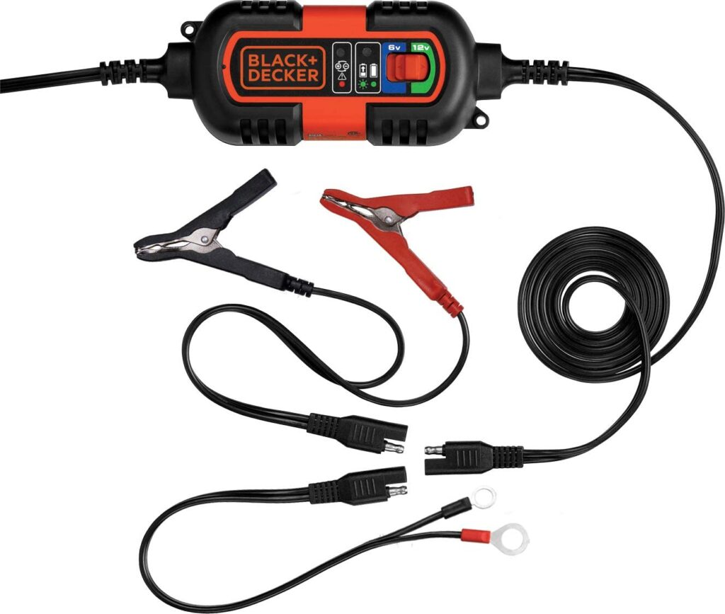 best battery charger for riding lawn mower
