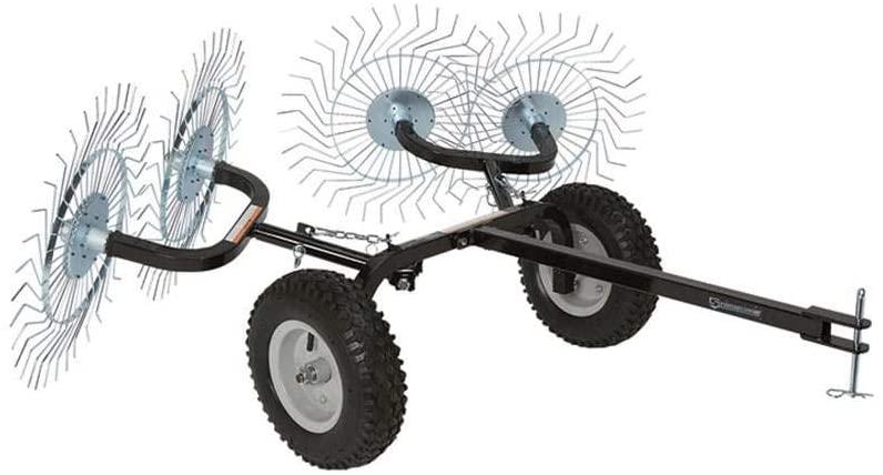 lawn rake for riding mower