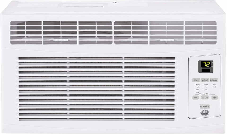 How do you reset a GE window air conditioner