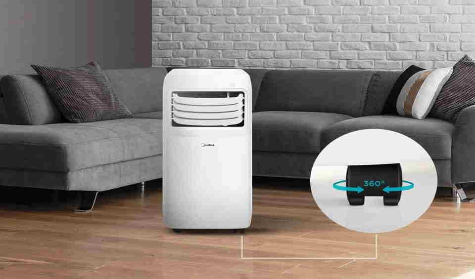 How often do you have to drain a portable air conditioner