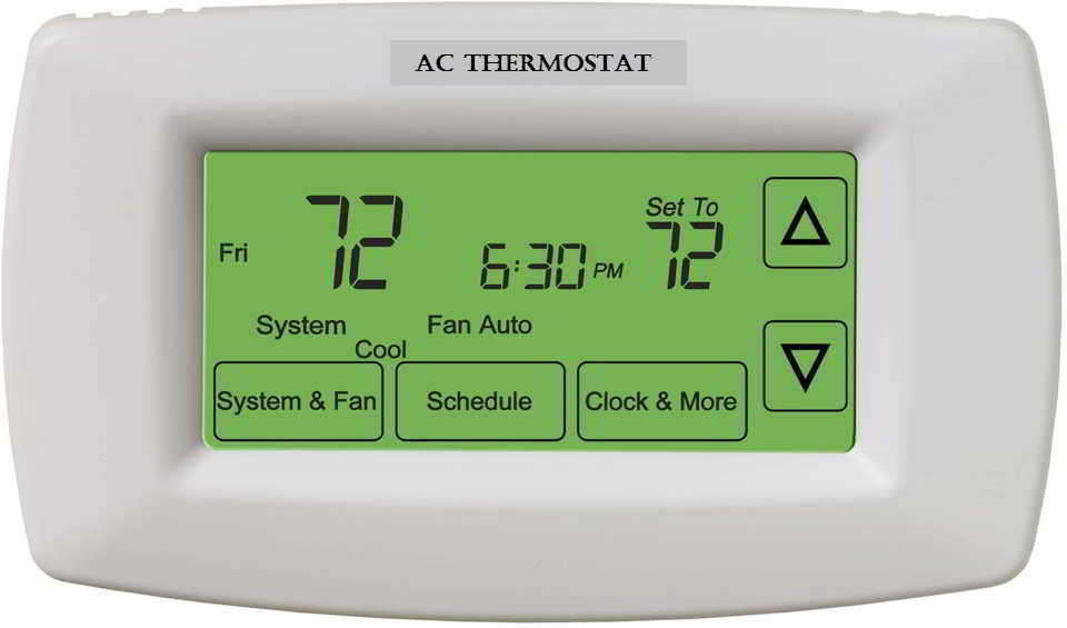 How to reset air conditioner thermostat