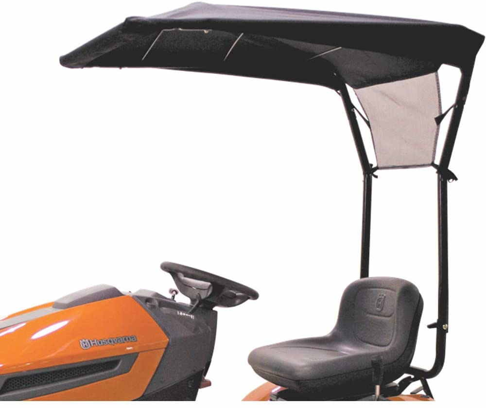 sun shades for riding lawn mowers
