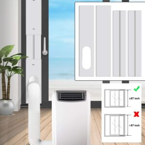 how to use a portable air conditioner without a window