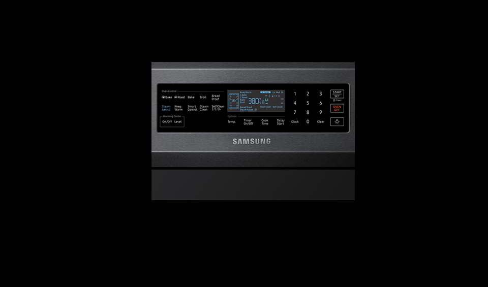 How to reset Samsung oven