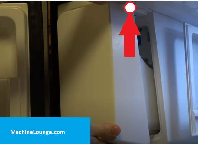 how to remove ice maker cover from samsung french door refrigerator