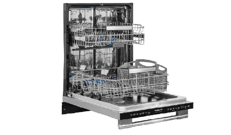 Frigidaire professional dishwasher troubleshooting